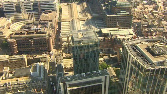 City of London scene