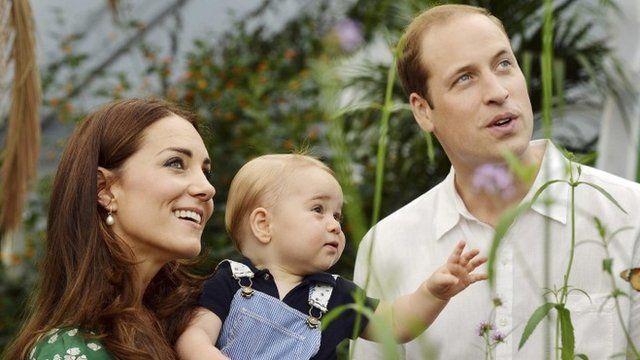 Royals at Natural History Museum