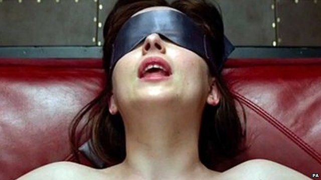 Screen grab of Dakota Johnson as Anastasia Steele taken from the trailer of the film Fifty Shades Of Grey
