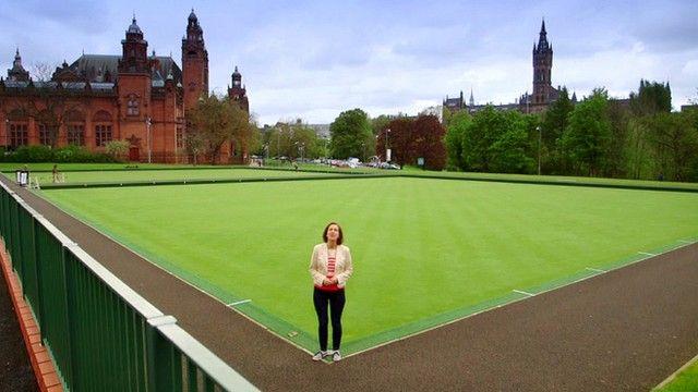 Kirsty Wark in Glasgow