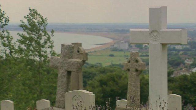 Folkestone tombstones