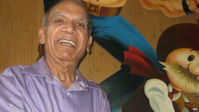Cartoonist Pran