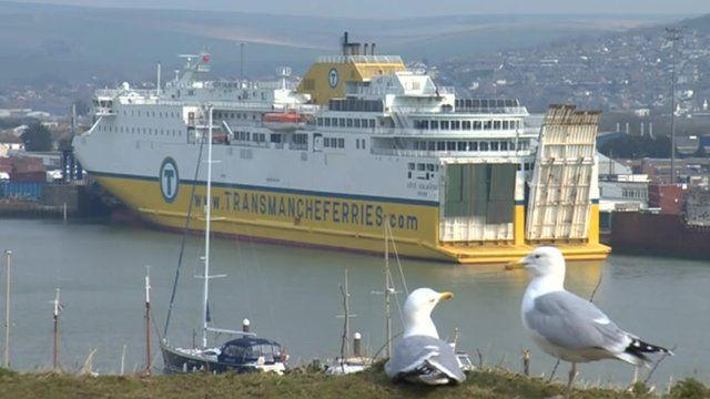 Newhaven to Dieppe ferry