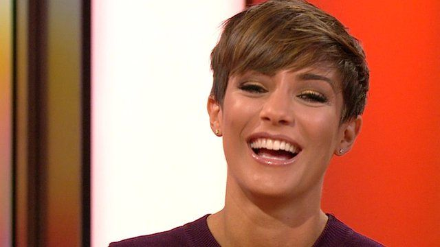 Frankie Bridge from The Saturdays