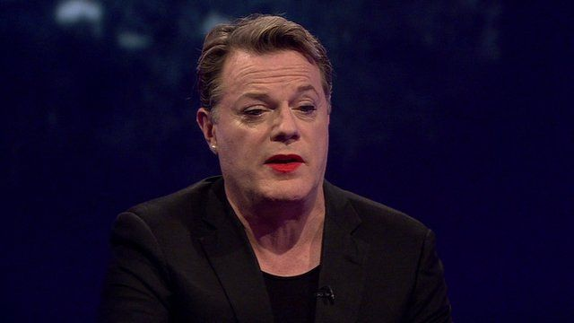 Comedian Eddie Izzard pays tribute to Robin Williams