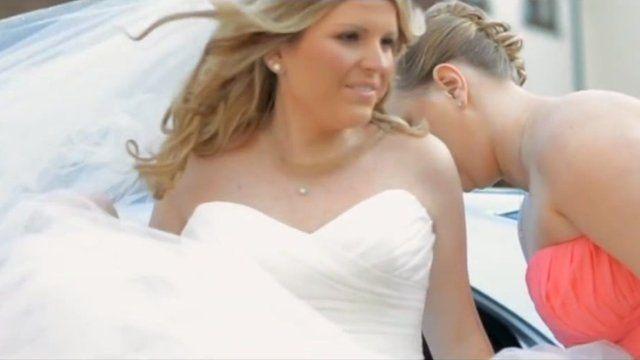 Dawn Weston at wedding