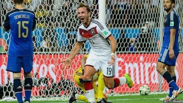Videos of Mario Gotze's World Cup winning goal were put online within minutes of him scoring