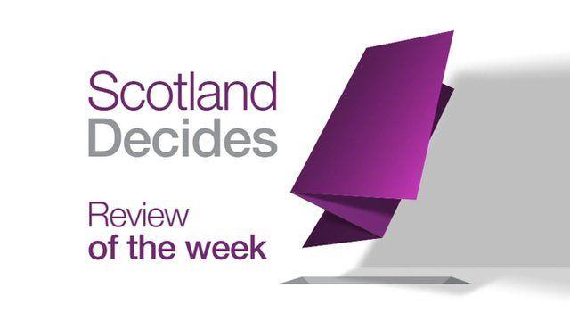 Programme titles: Scotland Decides