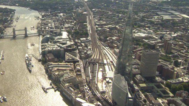 More than 50,000 passengers use London Bridge station each day
