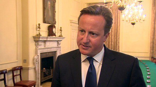 David Cameron condemns killing of US journalist James Foley