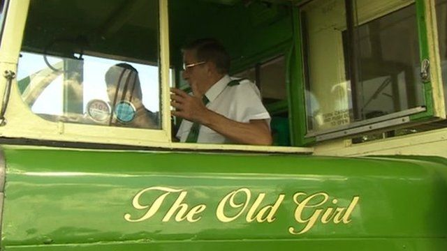 The 'Old Girl' bus