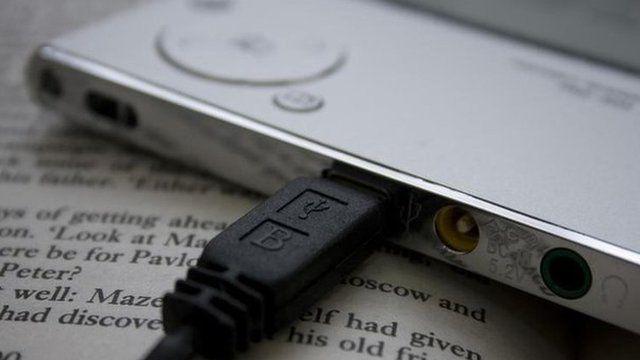 Book and e-reader