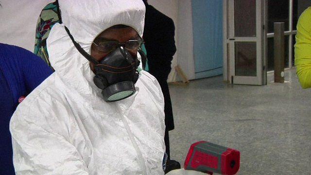 Nigeria confirms its first Ebola death outside Lagos.