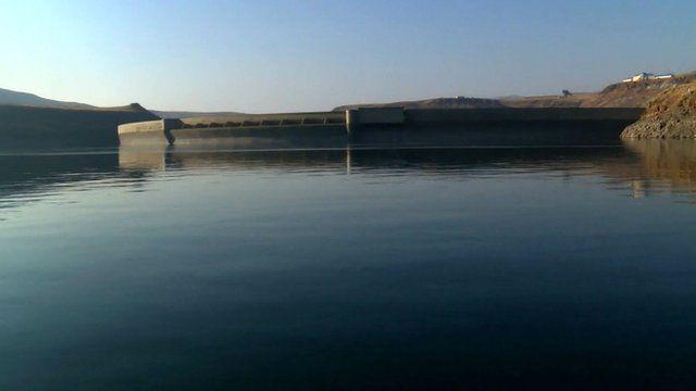 Reservoir in Lesotho