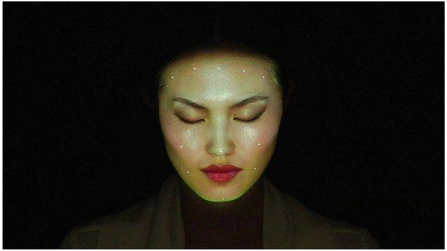 Face art from artist Nobumichi Asai