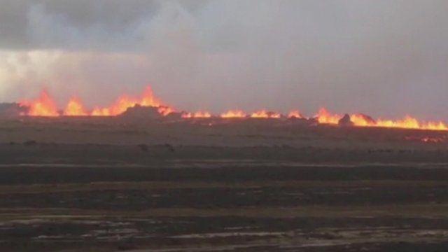 Bardarbunga volcano in Iceland