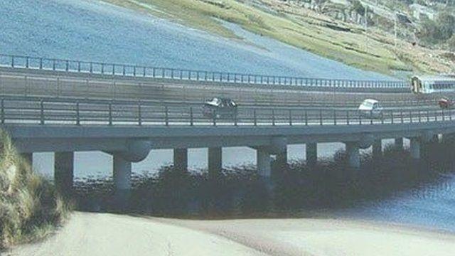 Artist impression of new bridge