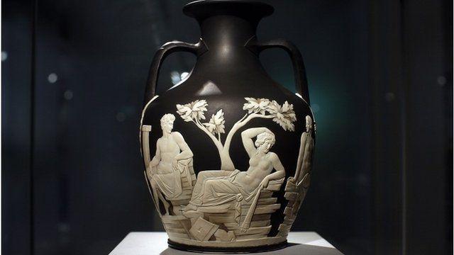 The Portland Vase by Wedgwood