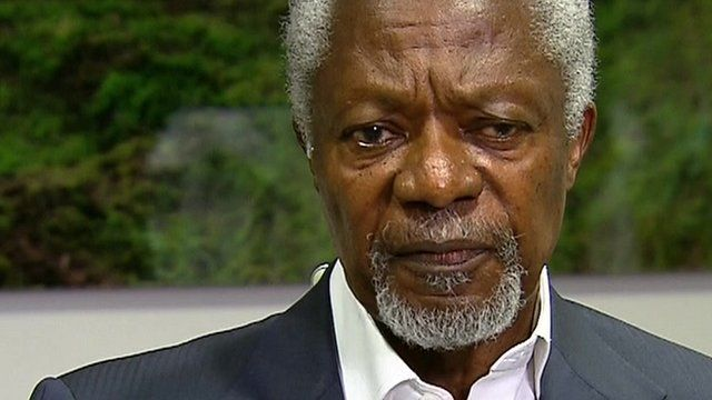 Ebola: Kofi Annan 'bitterly disappointed' by response to ...