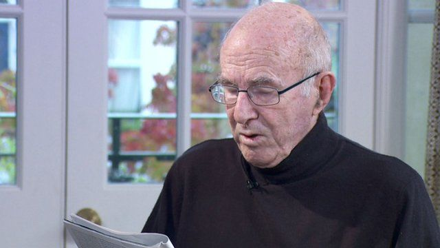 Clive James reading his poem Japanese Maple