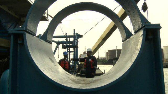 Oil plant in Nigeria