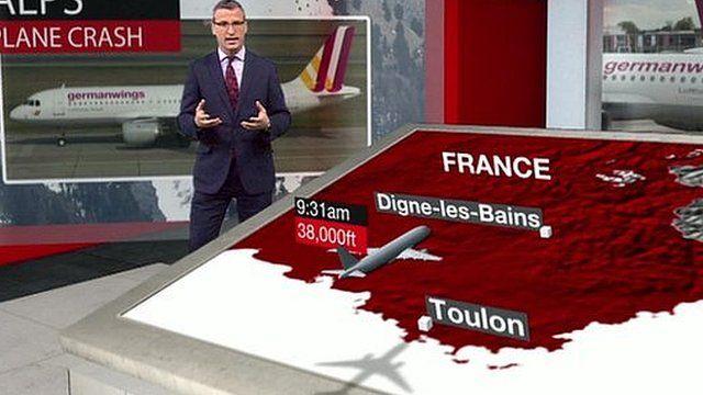 Richard Westcott explains what we know about the crash of Germanwings 4U 9525 so far.