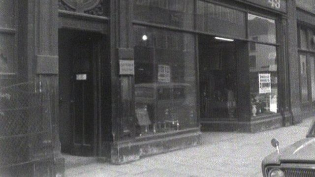 Archive The Belfast Auction Rooms In The 1960s Bbc News