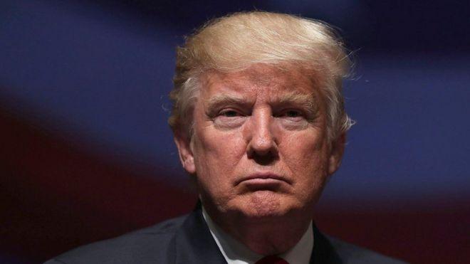 O republicano Donald Trump, presidente eleito dos EUA