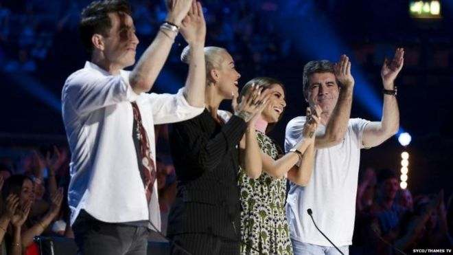 X Factor launch in ratings Slump