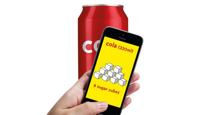 The sugar app from Public Health England