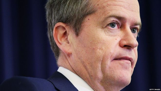 Australian Opposition Leader Bill Shorten