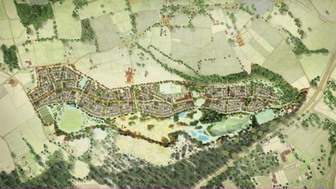 Wisley airfield plan