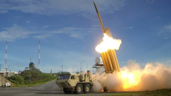 China, South Korea, Thaad