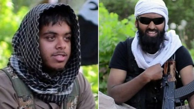 Reyaad Khan, from Cardiff and Ruhul Amin, from Aberdeen travelled to Syria to fight with so-called Islamic State