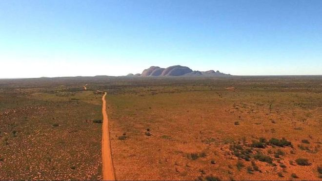 The Aṉangu Pitjantjatjara Yankunytjatjara area, in South Australia's remote north