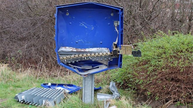 Man Dies On Christmas After Blowing Up Condom Machine