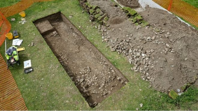 Roman Villa discovered near Wiltshire farmhouse