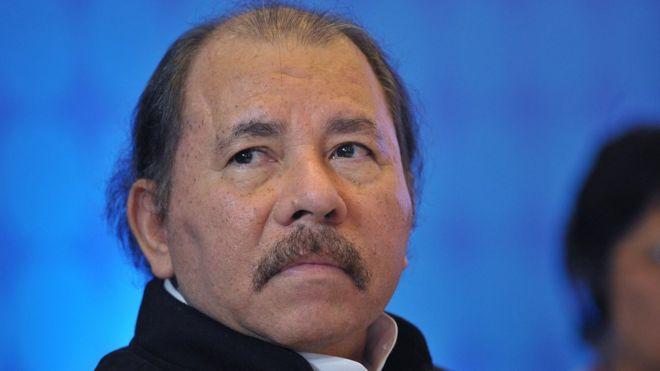 Daniel Ortega, presidente de Nicaragua