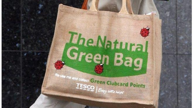 Tesco re-usable bag