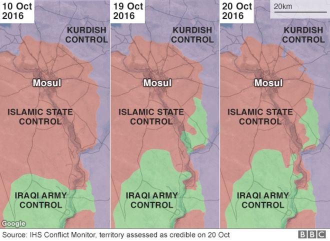 متابعة مستجدات الساحة العراقية - صفحة 28 _91998137_mosul_before_after_624map_101016