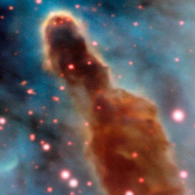 Región R18 en la nebulosa de Carina