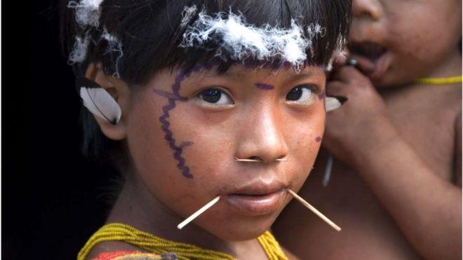 Índia Yanomami