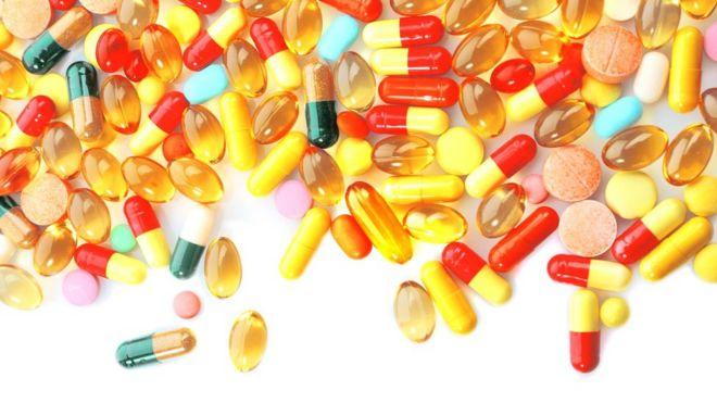 Vitaminas en pastilla