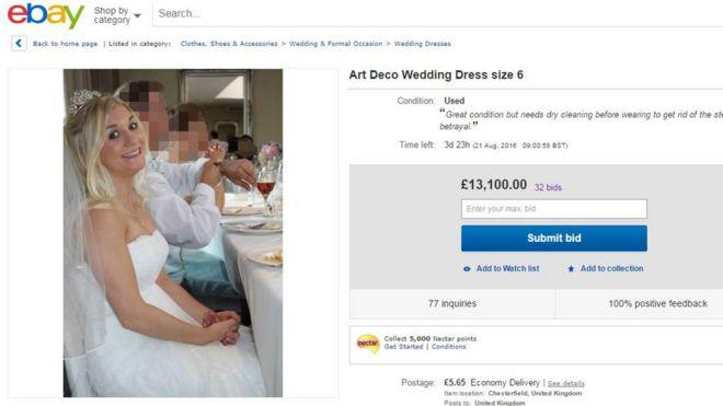 Wedding Dress On Ebay 37 Great Samantha Wragg us eBay