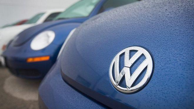 A VW car