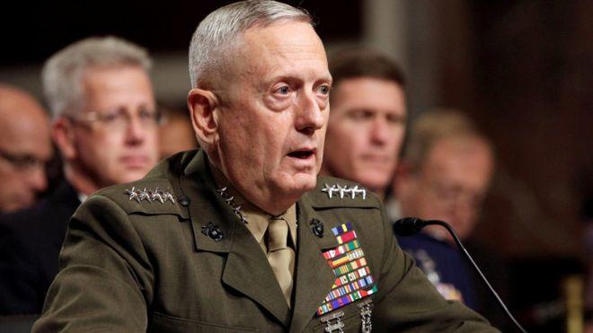 """Quién es James """"Perro Rabioso"""" Mattis, el elocuente general retirado elegido por Donald Trump como secretario de Defensa de Estados Unidos"""