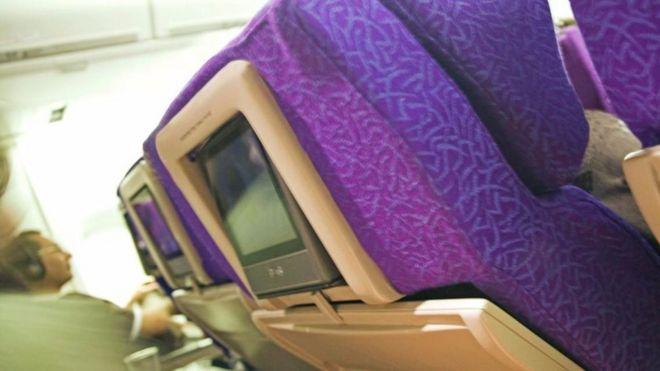 Ghế ngồi trên máy bay