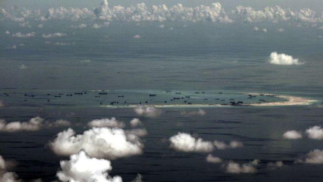 英媒:美中在太平洋上有冲突风险