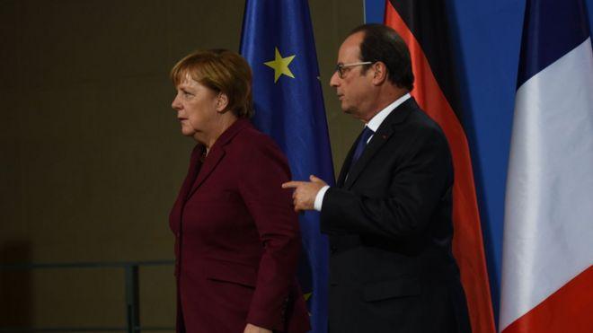 Вооруженная миссия ОБСЕ вгосударстве Украина неявляется насущным вопросом— Меркель