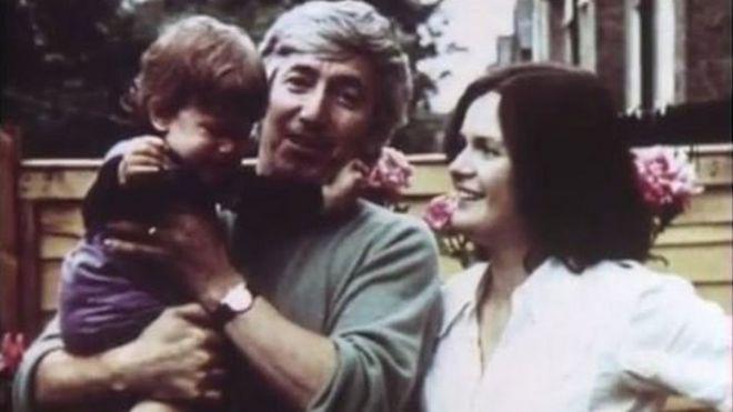 Georgi Markov con su familia